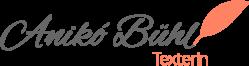 Anikó Bühl - Texterin - Logo